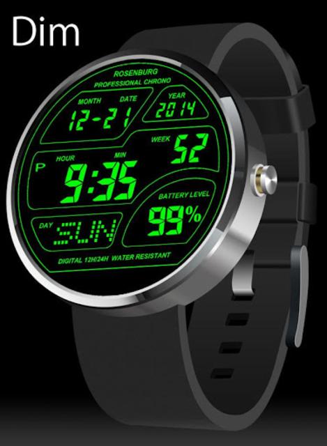 A45 WatchFace for Moto 360 screenshot 13
