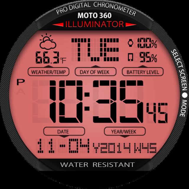 A45 WatchFace for Moto 360 screenshot 21
