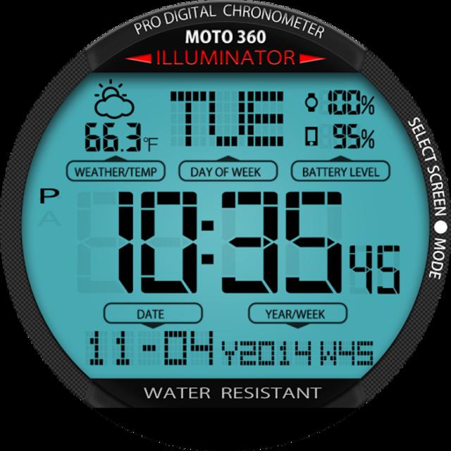 A45 WatchFace for Moto 360 screenshot 22