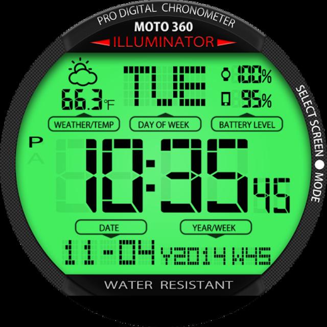 A45 WatchFace for Moto 360 screenshot 23