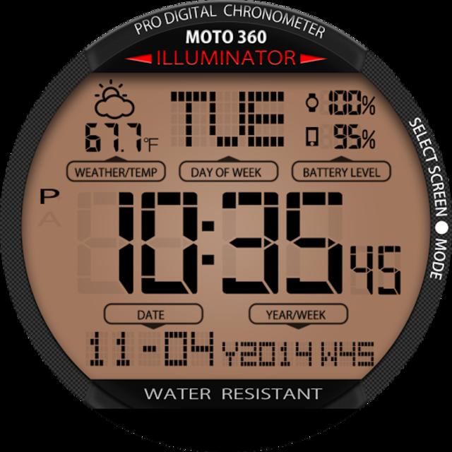 A45 WatchFace for Moto 360 screenshot 24