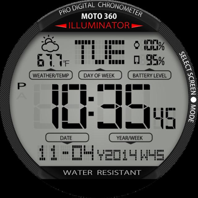 A45 WatchFace for Moto 360 screenshot 25