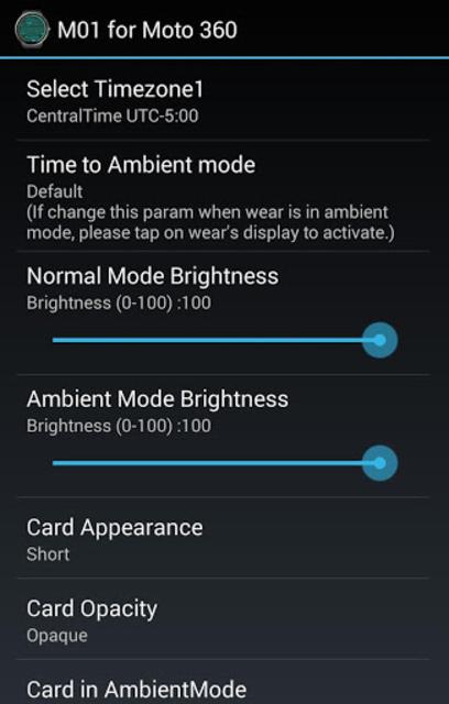 M01 Watch Face for Moto 360 screenshot 20