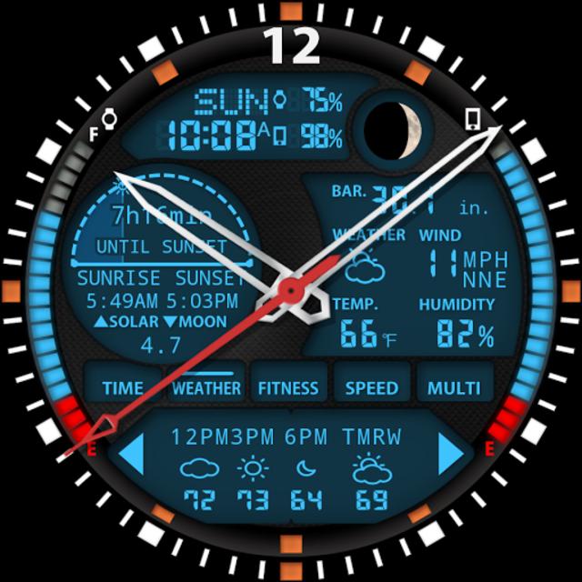 S01 WatchFace for Moto 360 screenshot 25