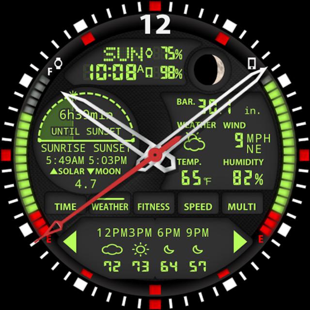 S01 WatchFace for Moto 360 screenshot 26