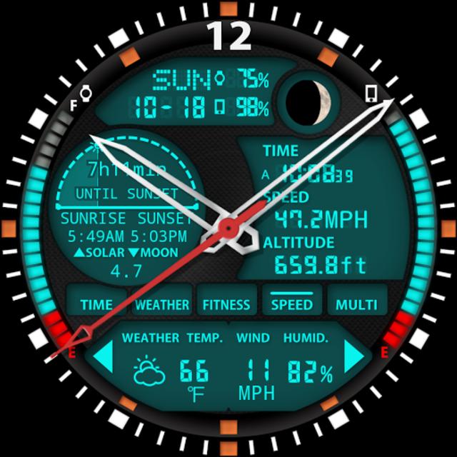S01 WatchFace for Moto 360 screenshot 28