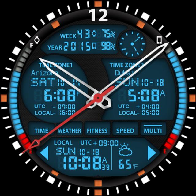 S01 WatchFace for Moto 360 screenshot 29