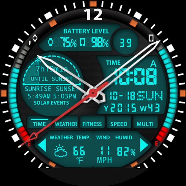 S01 WatchFace for Moto 360 screenshot 24