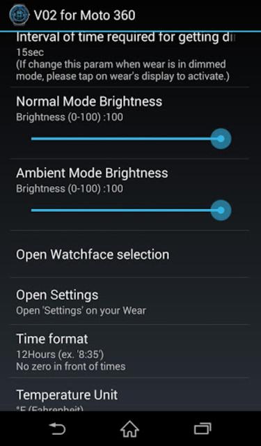V02 WatchFace for Moto 360 screenshot 4