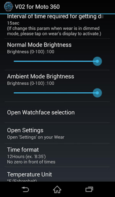 V02 WatchFace for Moto 360 screenshot 8