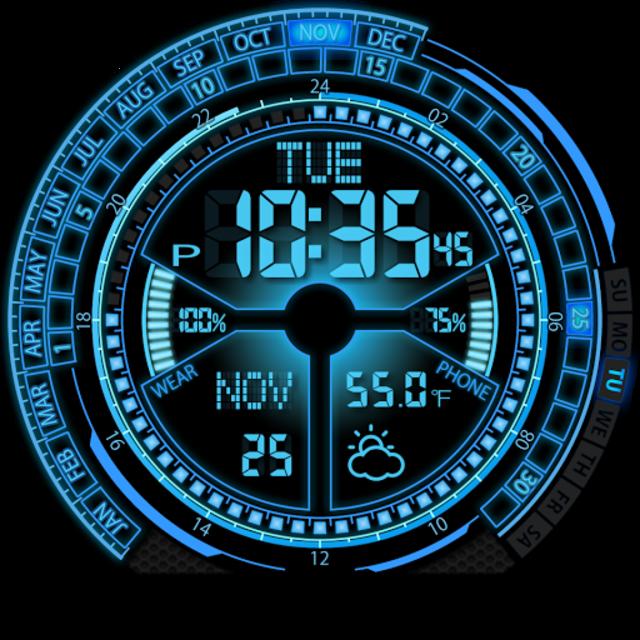 V02 WatchFace for Moto 360 screenshot 13