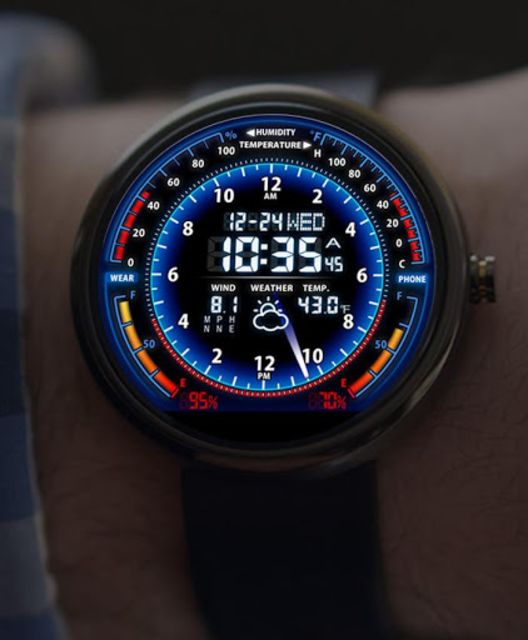 V05 WatchFace for Moto 360 screenshot 6
