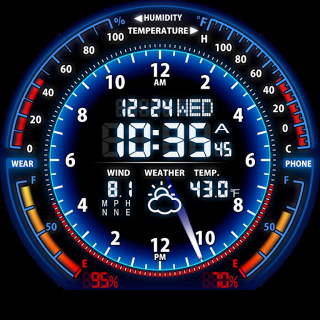 V05 WatchFace for Moto 360 screenshot 16