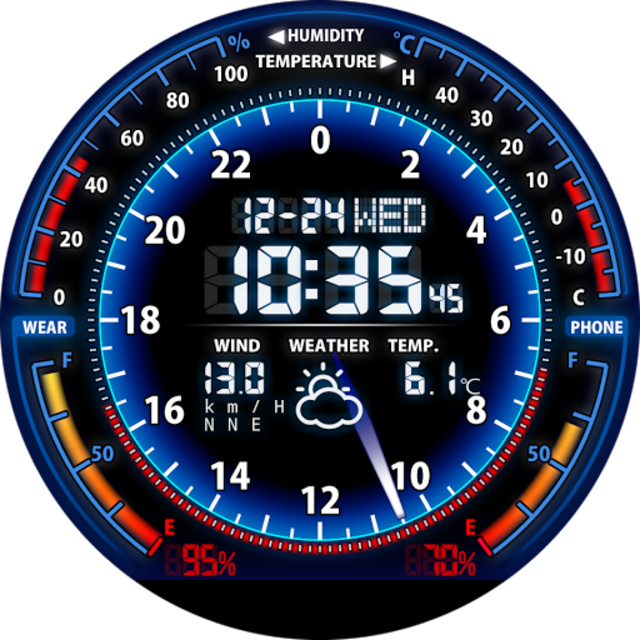 V05 WatchFace for Moto 360 screenshot 17
