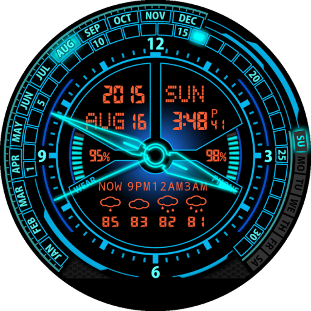 V20 Watch Face for Moto 360 screenshot 25