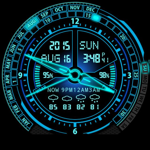 V20 Watch Face for Moto 360 screenshot 26