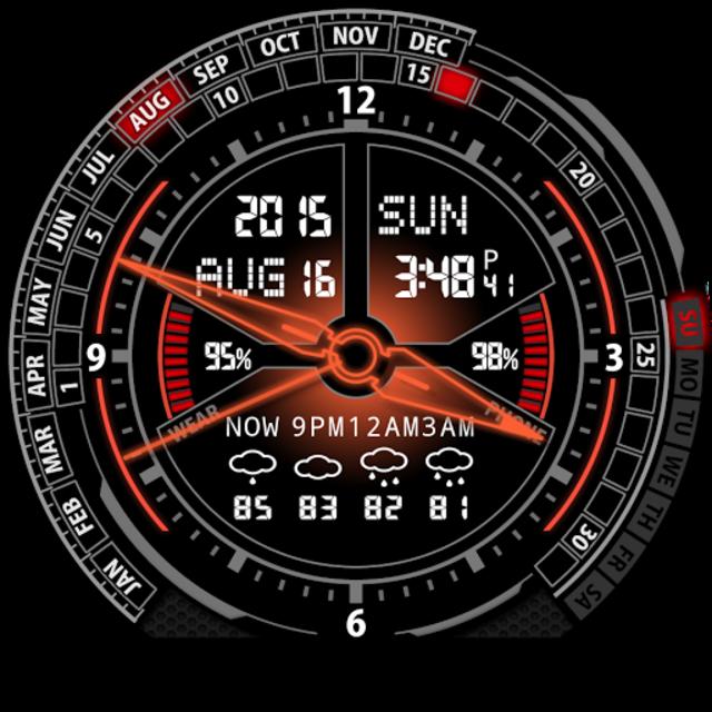 V20 Watch Face for Moto 360 screenshot 27
