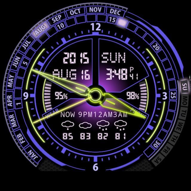 V20 Watch Face for Moto 360 screenshot 28