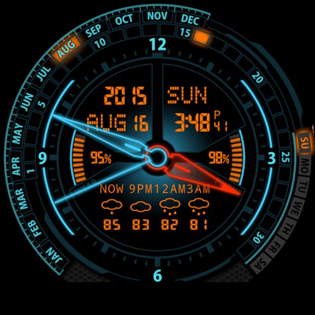 V20 Watch Face for Moto 360 screenshot 29