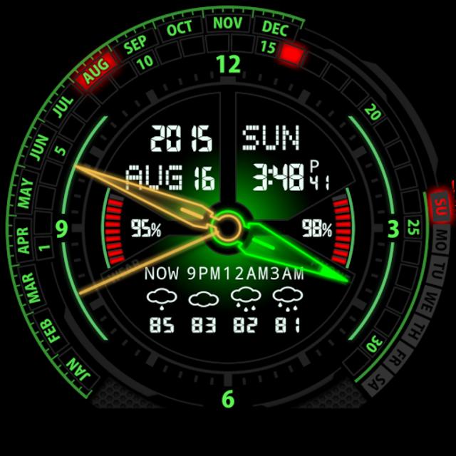 V20 Watch Face for Moto 360 screenshot 30
