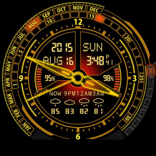 V20 Watch Face for Moto 360 screenshot 31