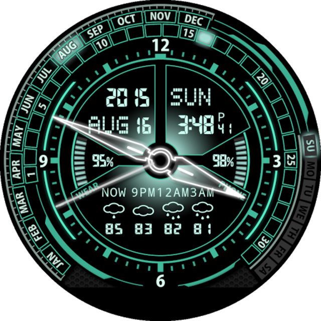 V20 Watch Face for Moto 360 screenshot 32
