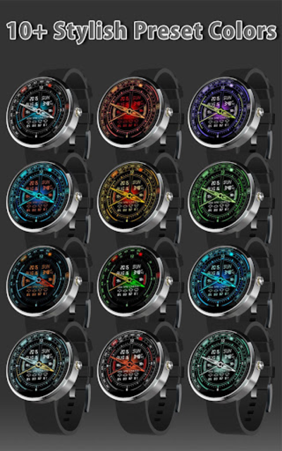 V20 Watch Face for Moto 360 screenshot 2