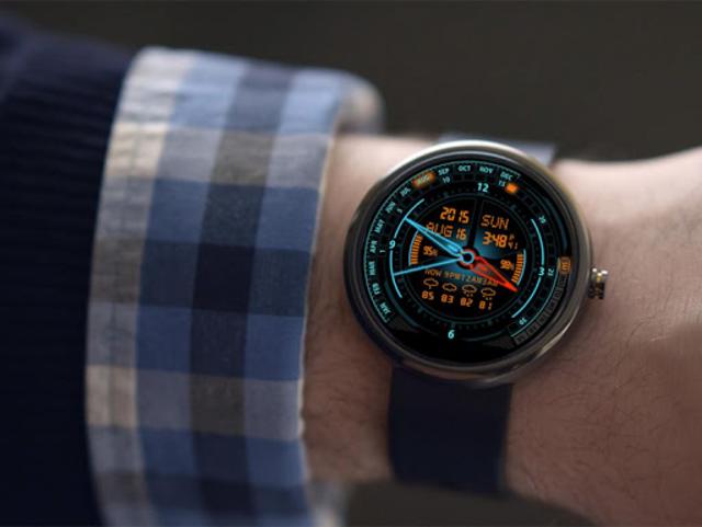 V20 Watch Face for Moto 360 screenshot 3
