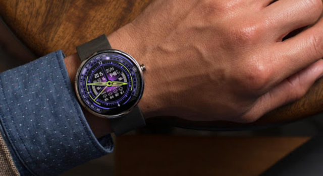 V20 Watch Face for Moto 360 screenshot 4