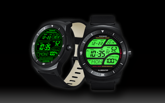 A41 WatchFace for Android Wear Smart Watch screenshot 16