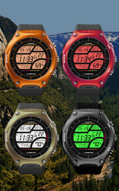 A41 WatchFace for Android Wear Smart Watch screenshot 6
