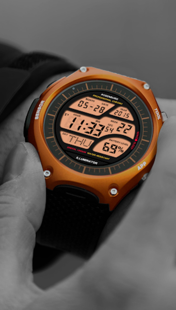 A41 WatchFace for Android Wear Smart Watch screenshot 7