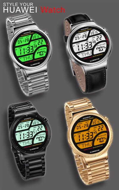 A41 WatchFace for Android Wear Smart Watch screenshot 11