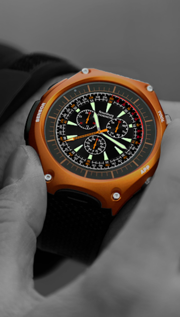 A42 WatchFace for Android Wear screenshot 1