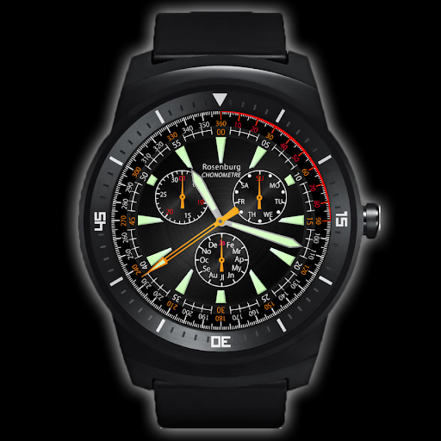 A42 WatchFace for Android Wear screenshot 3