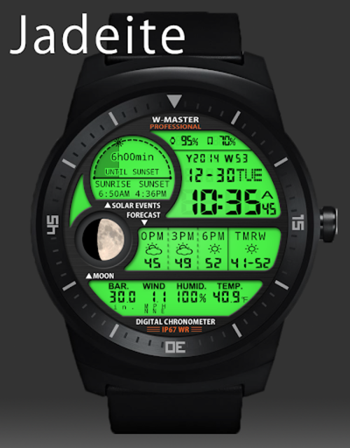F04 WatchFace for Android Wear Smart Watch screenshot 20