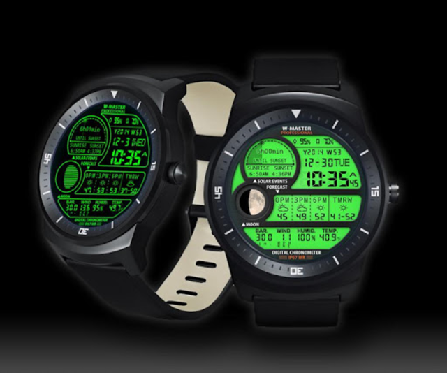 F04 WatchFace for Android Wear Smart Watch screenshot 8