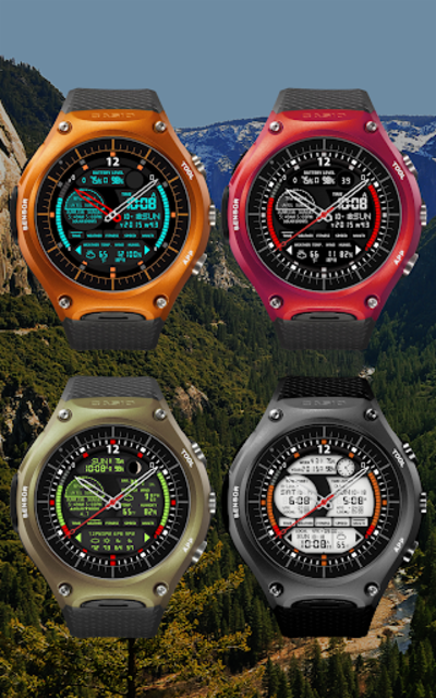 S01 WatchFace for Android Wear screenshot 16