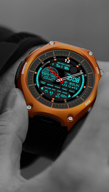 S01 WatchFace for Android Wear screenshot 18