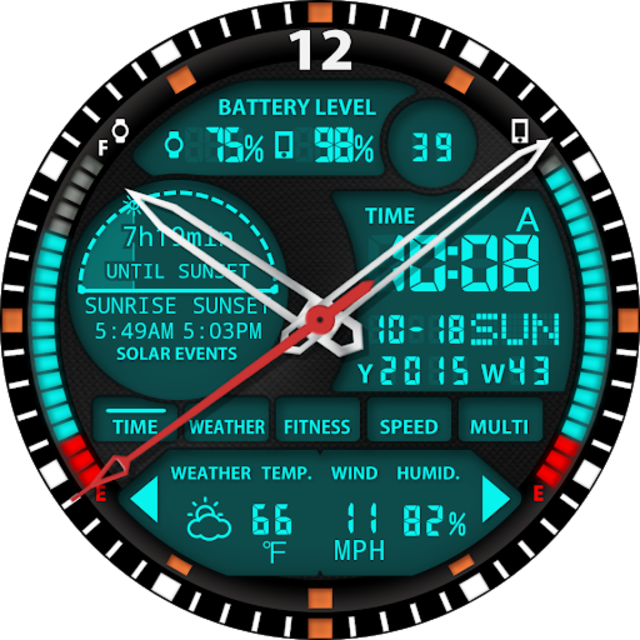 S01 WatchFace for Android Wear screenshot 24