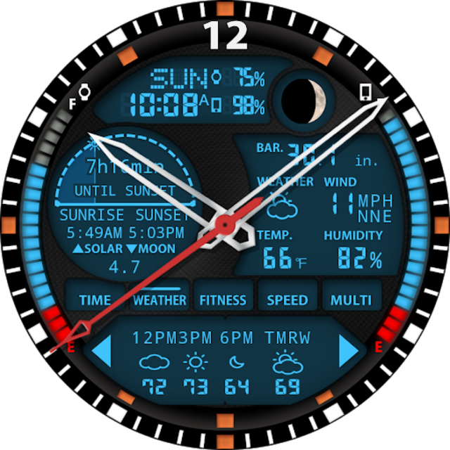 S01 WatchFace for Android Wear screenshot 25