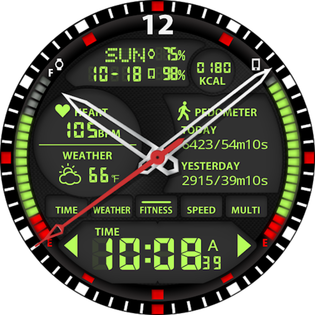 S01 WatchFace for Android Wear screenshot 26