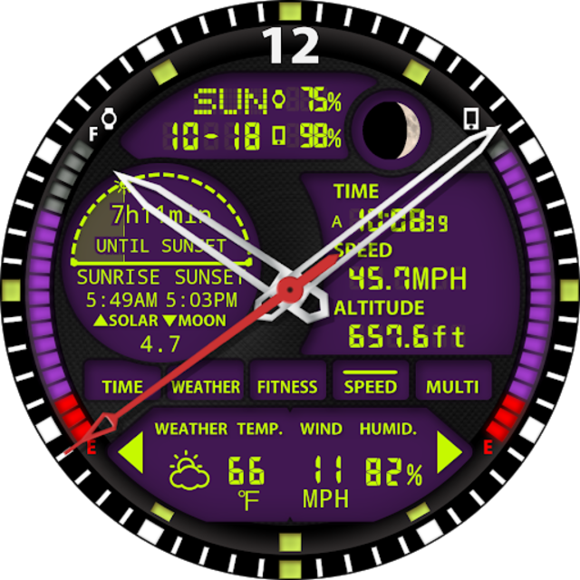 S01 WatchFace for Android Wear screenshot 27