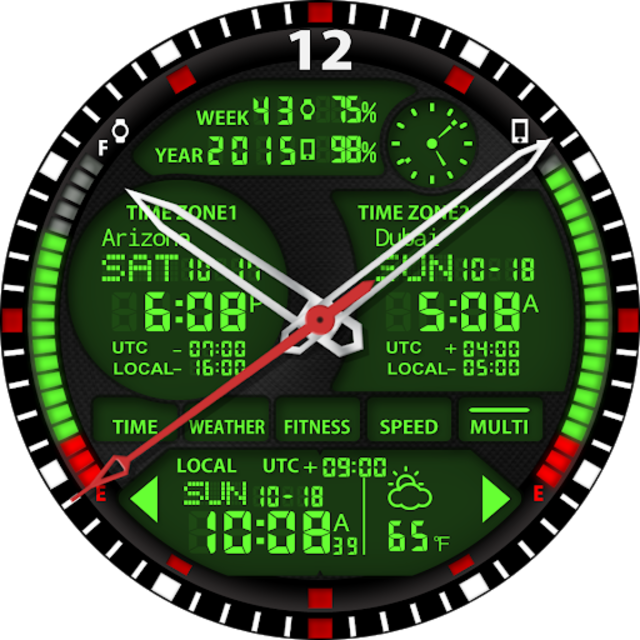 S01 WatchFace for Android Wear screenshot 28