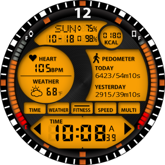 S01 WatchFace for Android Wear screenshot 31