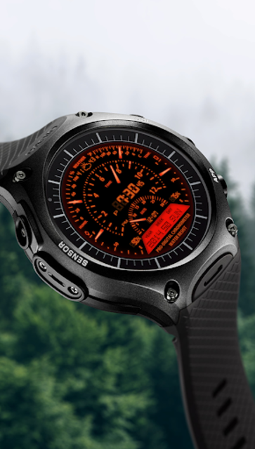 V06 WatchFace for Android Wear Smart Watch screenshot 2