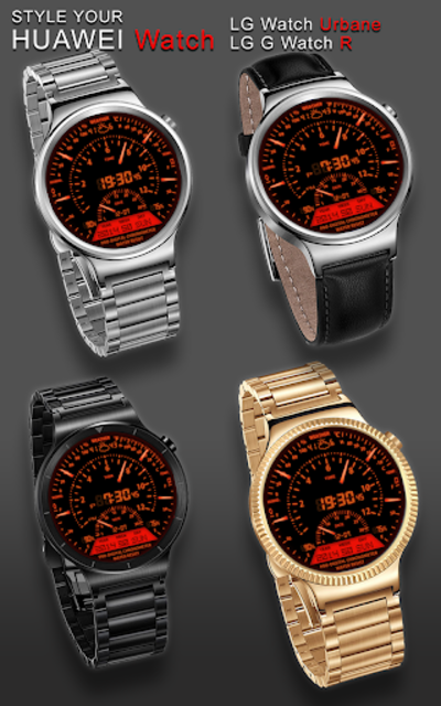 V06 WatchFace for Android Wear Smart Watch screenshot 19