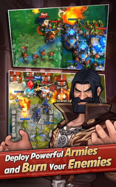 Castle Burn - RTS Revolution screenshot 12