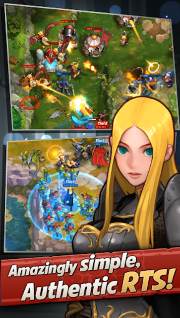 Castle Burn - RTS Revolution screenshot 2