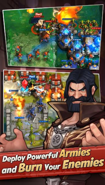 Castle Burn - RTS Revolution screenshot 4